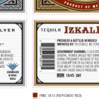 02-IZKALI Tequila Label Design